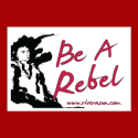 Be a Rebel Sticker