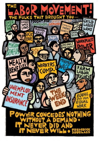 Labor Movement Poster