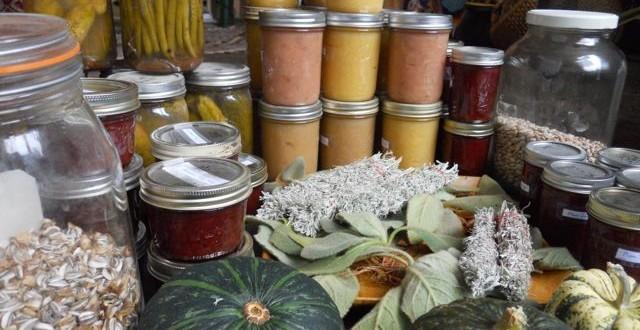 Applesauce, plum jam, pickles, and more!