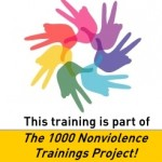 Nonviolence-training-hub-hands-and-peace-sign-text-1000-trainings-project-with-link-150x150