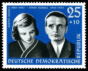 """Stamps of Germany (DDR) 1961, MiNr 0852"" by Hochgeladen von --Nightflyer (talk) 19:12, 10 October 2009 (UTC). Licensed under Public Domain via Wikimedia Commons."
