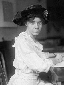 Alice Paul and US Women's Suffrage