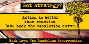 Got Strategy? Initiating vs. Reacting and Taking Back the Escalation Curve