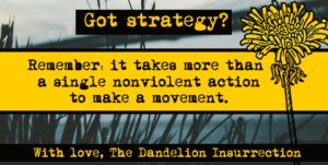 Got Strategy? It takes more than a single action to make a movement.