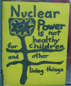 Anti-nuclear poster from the 1970s American movement