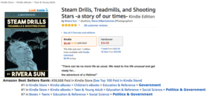 Steam Drills & Way Between Hit Bestsellers Lists in Categories! #1 and #3