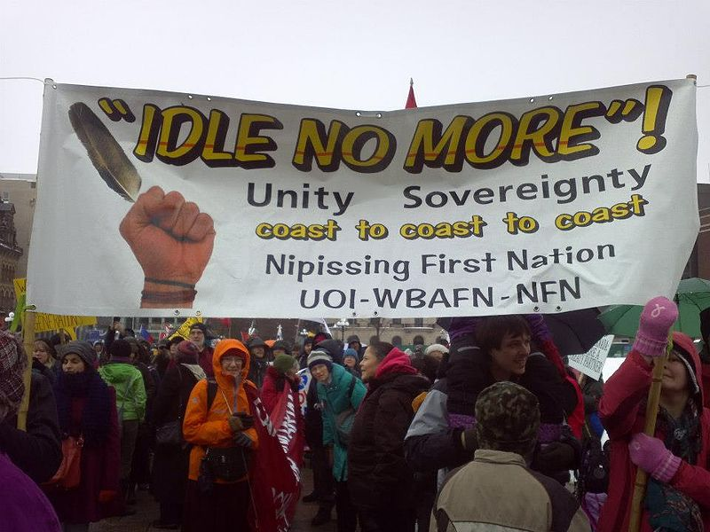 Idle No More Round Dances
