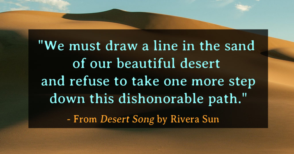 Desert Song Excerpt: A Lesson in The Way Between