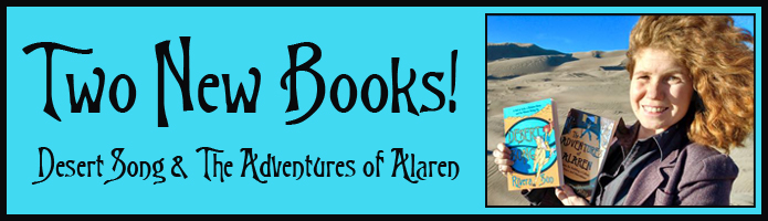 Two New Releases! Desert Song & The Adventures of Alaren